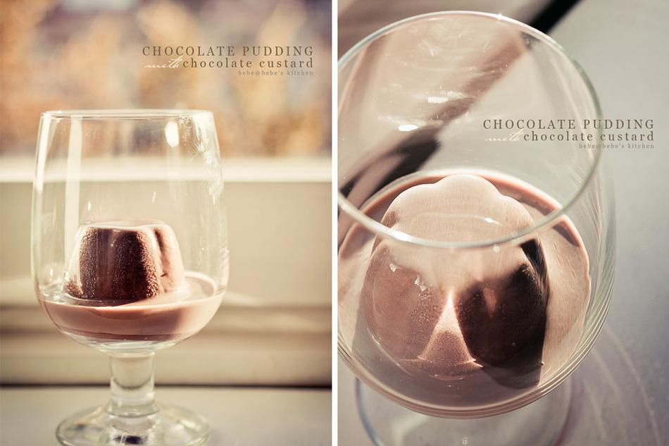 Puding Coklat & Vla Coklat