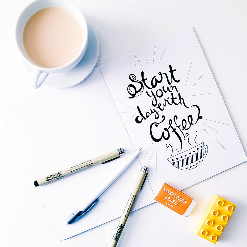lettering-coffee