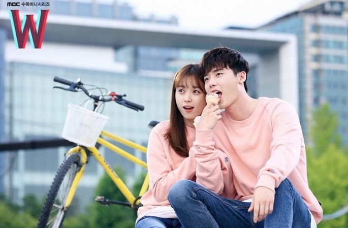 w-is-a-2016-south-korean-television-series-starring-lee-jong-suk-and-han-hyo-joo