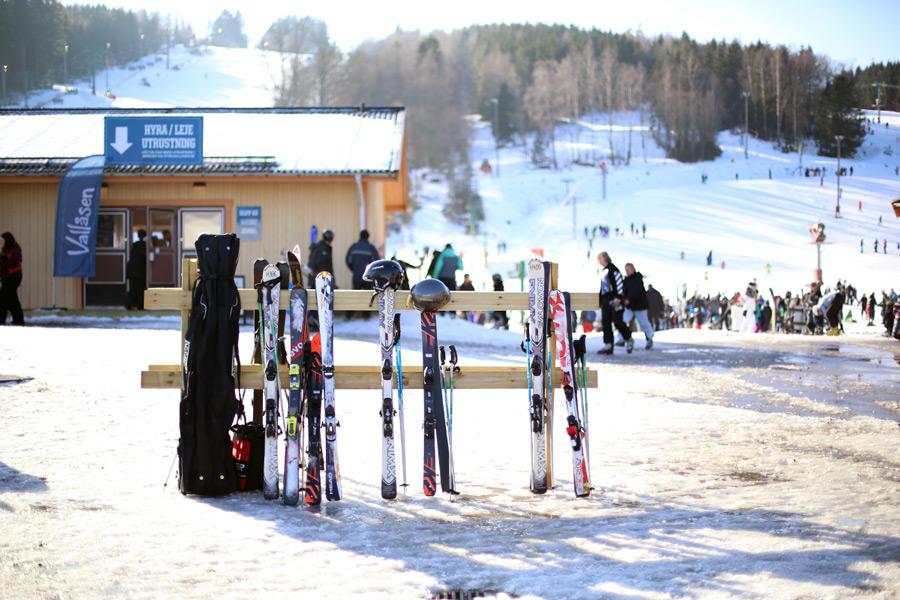 ski trip to vallåsen
